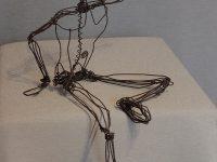 sculpture créateur metal Orléans Lydie Belde