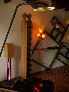 Créations Xavier Moret Luminaire Meuble Sculpture Créateur