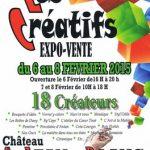 affiche expo vente artisan château loiret